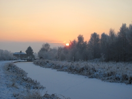 Montgomery canal winter