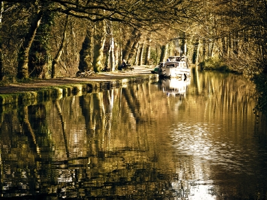 Down the canal