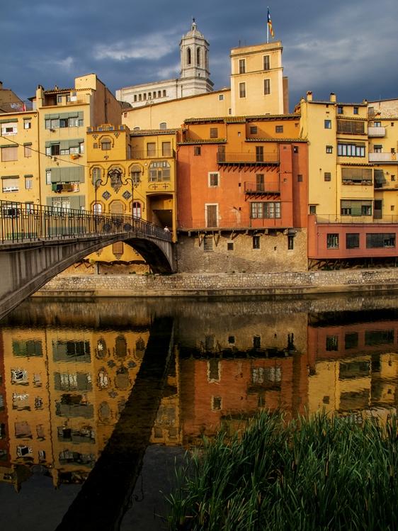 Onyar reflections, Girona