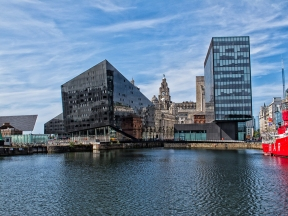 Across the water, Liverpool
