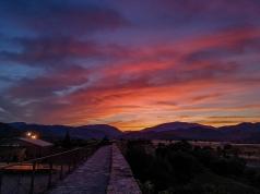 Sunset in Ainsa